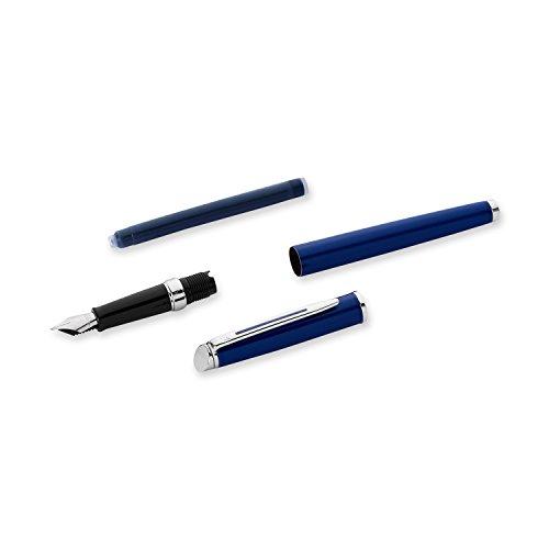 Waterman Hemisphere Blue Fountain Pen CT, Fine/Medium Tip, Blue Ink by Waterman (Image #4)