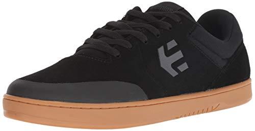 Skateboard Etnies Shoe Mens - Etnies Men's Marana Skate Shoe Black/Dark Grey/Gum 10 Medium US