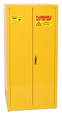Eagle Safety Cabinet For Flammable Liquids 2 Manual Doors