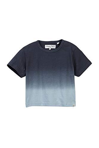 (Sovereign Code Navy Boy's Ombre Dye Slub Tee Shirt Blue 5)