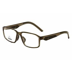 Adidas Eyeglasses AF39 AF/39 6052 Night Brown/Orange Full Rim Optical Frame 57mm