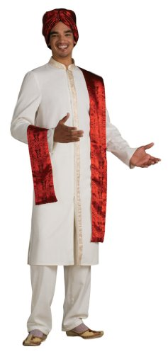 [Rubie's Costume Bollywood Guy Costume, Standard] (Bollywood Dress Up Costumes)
