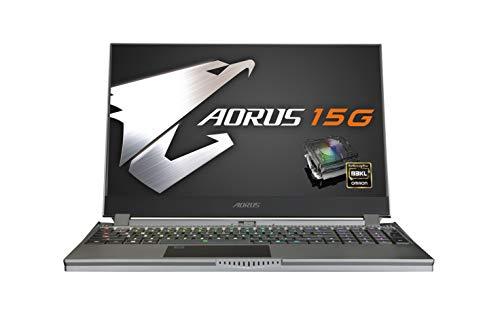 [2020] AORUS 15G (WB) Performance Gaming Laptop, 15.6-inch FHD 240Hz IPS, GeForce RTX 2070 Max-Q, 10th Gen Intel i7-10875H, 16GB DDR4, 512GB NVMe SSD