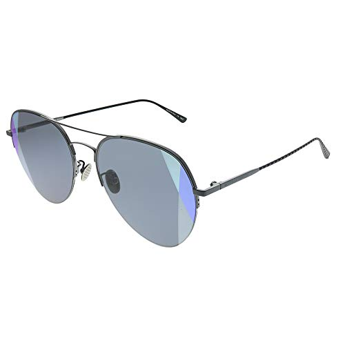 Sunglasses Bottega Veneta BV 0247 S- 005 RUTHENIUM/GREY ()
