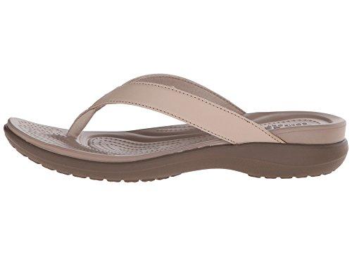 Crocs Mujeres Capri V Flip Walnut