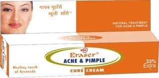 Eraser Acne & Pimple Cure Cream 9g+3g free - Treatment Healing Neem