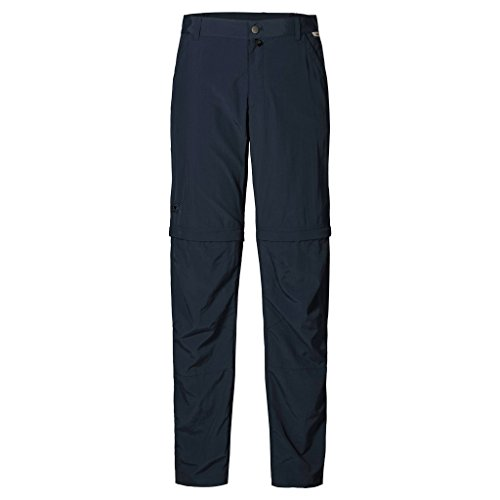 Jack Wolfskin Men's Canyon Zip Off Pants, Night Blue, Size (Mens Canyon Pant)