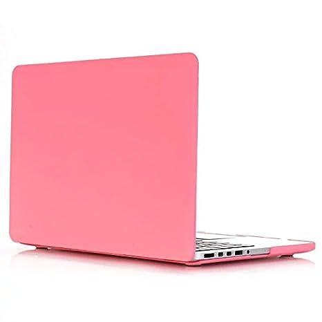 Carcasa MacBook Pro 13 - AQYLQ Protector de Plástico Cubierta [Candy Color] Funda Dura para Old MacBook Pro 13 Pulgadas con CD-Rom A1278 - Rosado