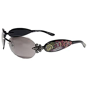 ED HARDY SUNGLASSES EHS 014 BLACK TATOO