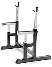 HJRBM Bench Press Home Fitness Barbell Weightlifting Bed Multifunctional Squat Protection Commercial Fitness Equipment,multi Sit Up Workout,applicable to Gyms and Private Education Studios