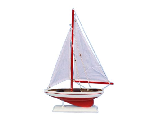 - Hampton Nautical  Pacific Sailer Sailboat, 17