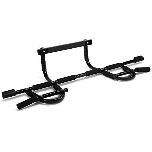 (Yes4All Doorway Pull Up Bar / Chin Up Bar over the Door for Home Gym, Enhance Upper Body Strength - Pull Up Bar on the Door - Support to 300 lbs (XSP Bar))