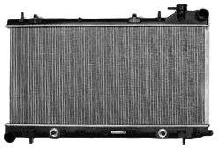 TYC 2402 Subaru 1-Row Plastic Aluminum Replacement Radiator