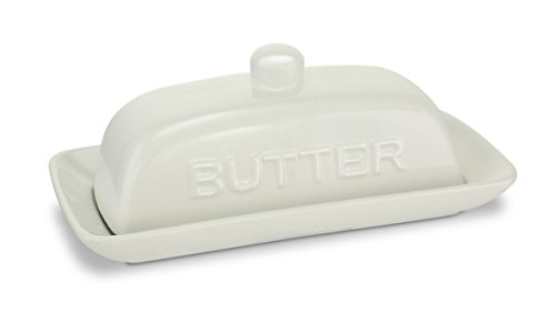 KOVOT Ceramic Butter Dish And Cover - UPDATED Knob For Improved User Performance