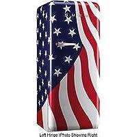 Smeg FAB28UUSL1 9.22 cu. ft. 50s Style Refrigerator - US Flag, Left Hinge