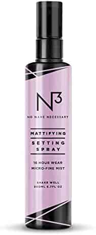 N3 No Name Necessary Mattifying Shine and Oil Control Long Lasting Anti-aging Makeup Setting Spray (100ml)