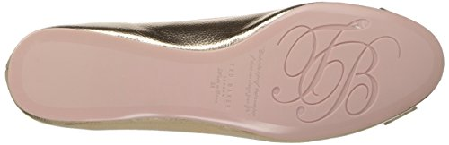 Ballet Baker Immet Bow New Shoe Women's Ted 2 Rose Gold pBcI7yyKZ4