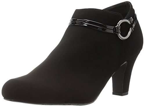 Lamy Patent Women's Jem Ankle Street Bootie Easy Black qPU0RYfn