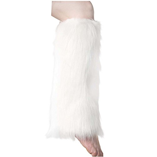 (ELLITE Faux Fur Warm Fuzzy Leg Warmers/Boot Sleeves/Boot)