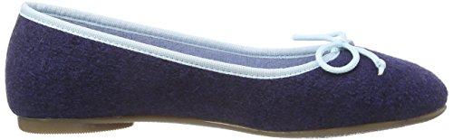 Stegmann 403 Damen Geschlossene Ballerinas Blau (ink blue 8962)
