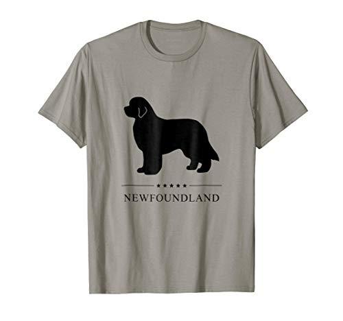 Newfoundland Shirt: Black Silhouette