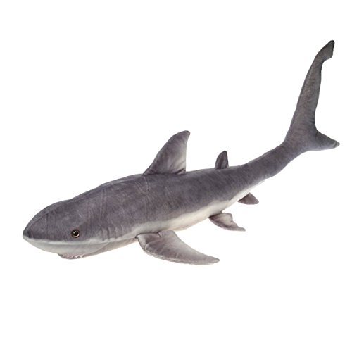Fiesta Toys Giant Great White Shark Plush Stuffed Animal Toy - 54 Inches (Fiesta Plush)