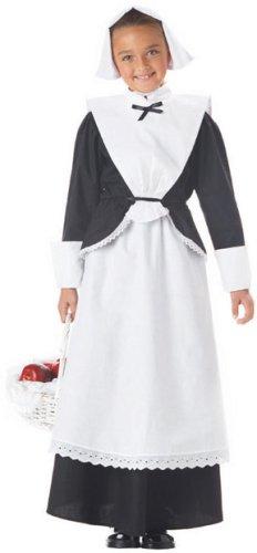 [Pilgrim Girl Costume - Medium] (Baby Pilgrim Costumes)
