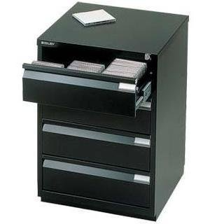 the latest 240a8 66d21 Bisley 4 Drawer Media Locks Filing Cabinet Ms4e - Black ...