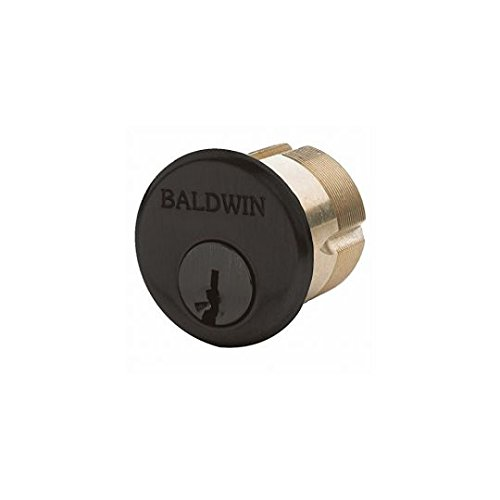 Baldwin 8327102EMHT Mortise Cylinder C Keyway44; Oil-Rubbed Bronze - 1.75 in.