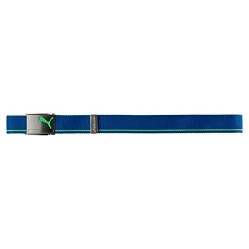 Puma Golf 2018 Men's Reversible Web Belt, (True Blue/Andean Toucan, One Size)