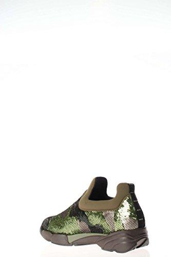 1h204zy1rhls1 Pinko Sneakers Dames Lovertjes Groene Marrón Verde Y