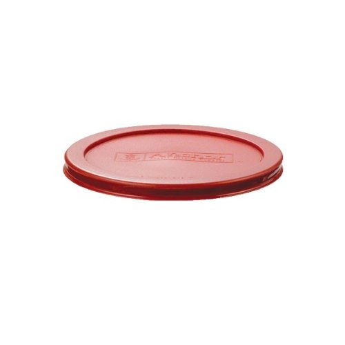 Anchor Hocking Red Plastic Lid for 2 cup Kitchen Storage Round