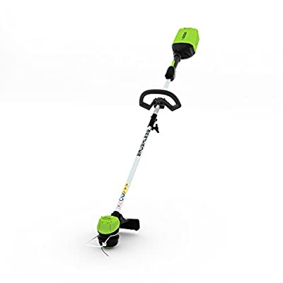 Greenworks Pro 60-Volt Max 16-in Straight Brushless Cordless String Trimmer (Tool Only - Battery/Charger Not Included)