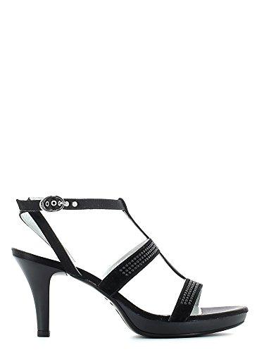 Femme Noir Et Chaussures Sandales Nero Giardini Ouvertes 1qgXXY