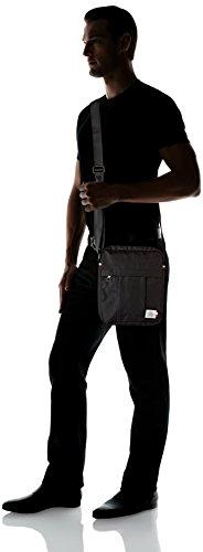 Tommy Slim Reporter Hilfiger Black Tommy Bag Mens Black Messenger tqHEwTx