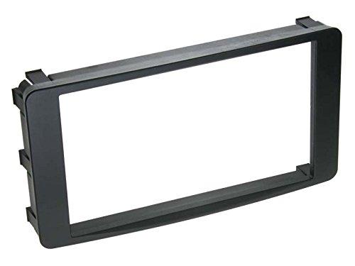 ACV 281200-03 2-DIN Radioblende f/ür Mitsubishi Lancer//Outlander schwarz