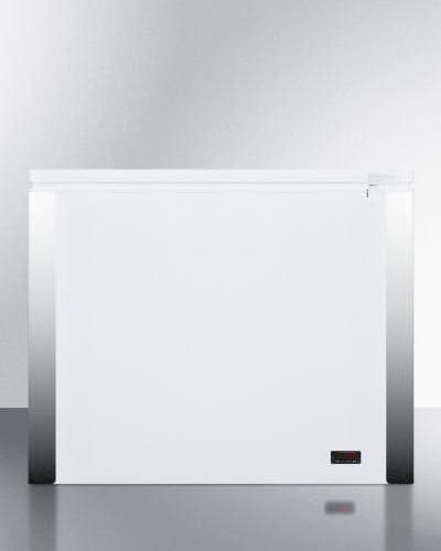 7.7 Cu Summit EQFF72 Frost-Free Chest Freezer Ft.