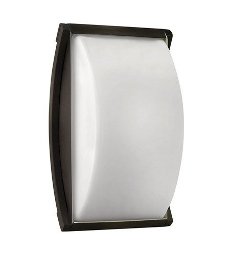 Opal Bronze Sconce - Wall Sconces 1 Light with Bronze Cased Opal Extruded Aluminum Body LED 11 inch 8 Watts