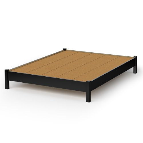 South Shore SoHo Queen Platform Bed, Multiple Finishes