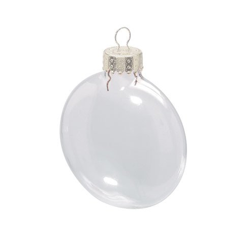 Buy Bulk Darice DIY Crafts Clear Glass Disc Ornaments 3 1/8 Inches X 6 Pieces Per Box X 24 Boxes by Darice