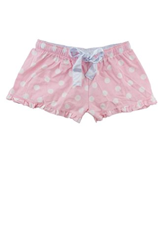 Hometown Clothing Bundle: Ruffled Flannel Boxer Short & HTC Garment Guide M-Pink Dot