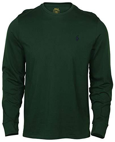 50c67cab458 Polo Ralph Lauren Men s Long Sleeve Pony Logo T-Shirt (NW Pine