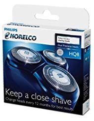 3 replacement heads for Norelco Spectra Razor - Philips Norelco HQ8 Spectra Tripleheader Replacement Heads