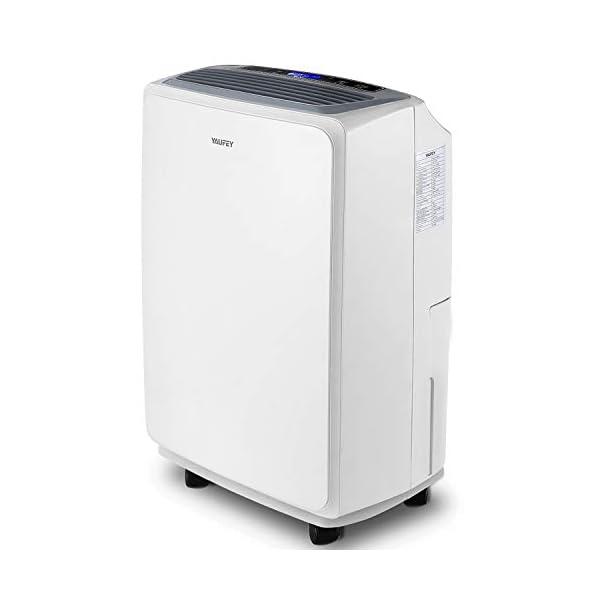 yaufey 30 Pint Dehumidifier for Home Basements Bedroom Garage, Mid-Size Portable...