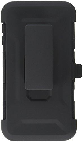 i-Blason Galaxy S5 Case, [Kickstand] Prime Series [Dual-Layer] Holster CaseLocking Belt Swivel Clip for Samsung Galaxy S5 (Black)