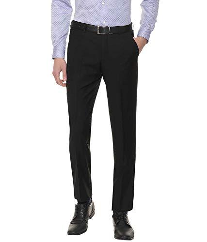 American-Elm Slim Fit Formal Trouser for Men, Cotton Formal Pants for Office Wear