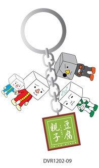 To Fu Oyako (Like Gloomy Bear) Keychain Standing ()