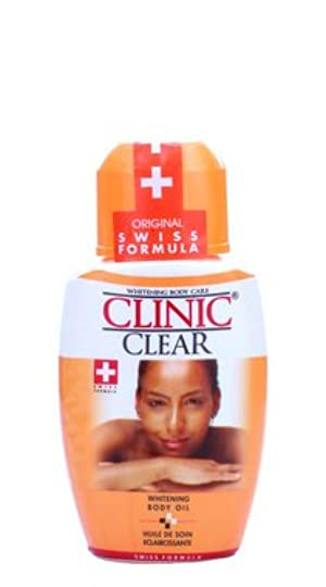 Clinic Clear Whitening Body Oil
