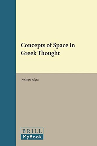 Concepts of Space in Greek Thought (Philosophia Antiqua) (Studies in the History of Christian Thought) -