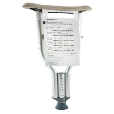 MCK49103808 - Mckesson Brand Underarm Crutch McKesson Aluminum Child 300 lbs.